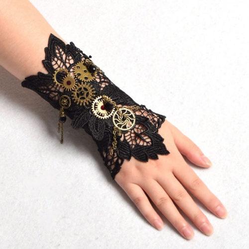 Bracelet steampunk victorien
