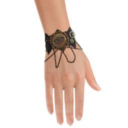 Bracelet steampunk victorien swarovski