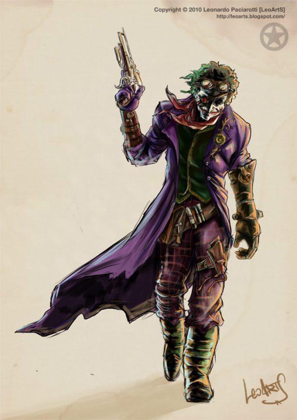 Steampunk version of The joker
