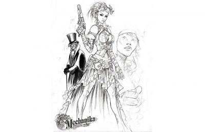 Lady Mechanika, l'héroïne Steampunk de la bédé éponyme