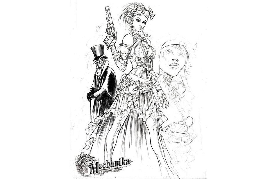 Lady Mechanika BD Steampunk