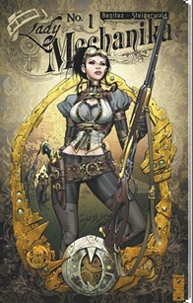Lady Mechanika en chasseuse de prime