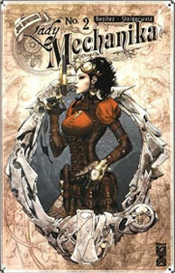 Lady Mechanika en tenue victorienne