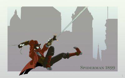 Spiderman façon steampunk
