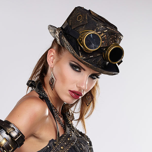 Lunettes steampunk pour cosplay