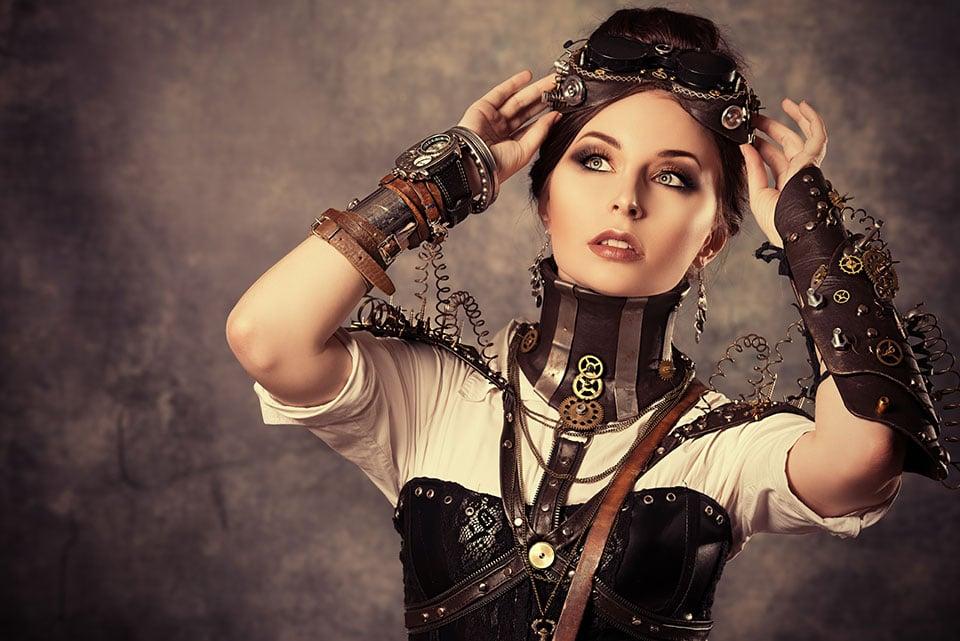 Comment porter des goggles steampunk