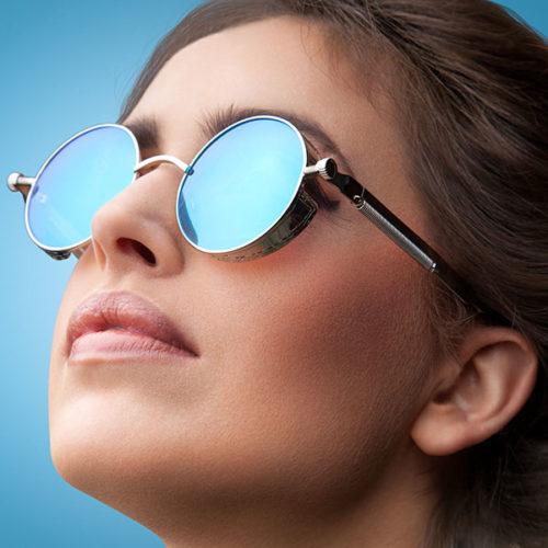 Lunettes de soleil vintage pour femme