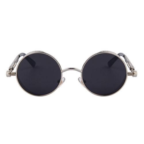 lunettes spring argentées face