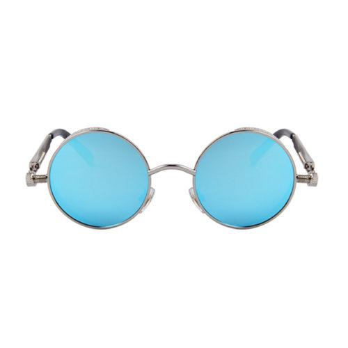 lunettes spring bleues vue de face