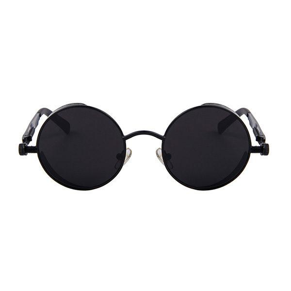 lunettes spring noires vue de face