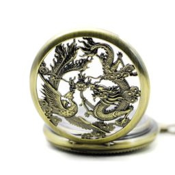 Couvercle du modèle Dragon Fenghuang (mécanique)