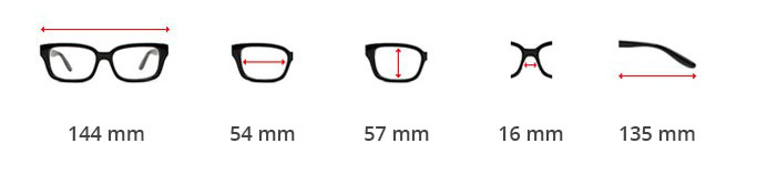 Dimensions lunettes steampunk à coques