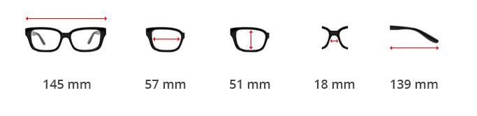 Dimensions des lunettes steampunk railway