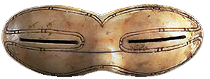 Inuit snow goggles