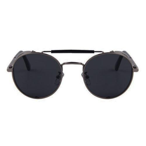 lunettes rider acier vue de face