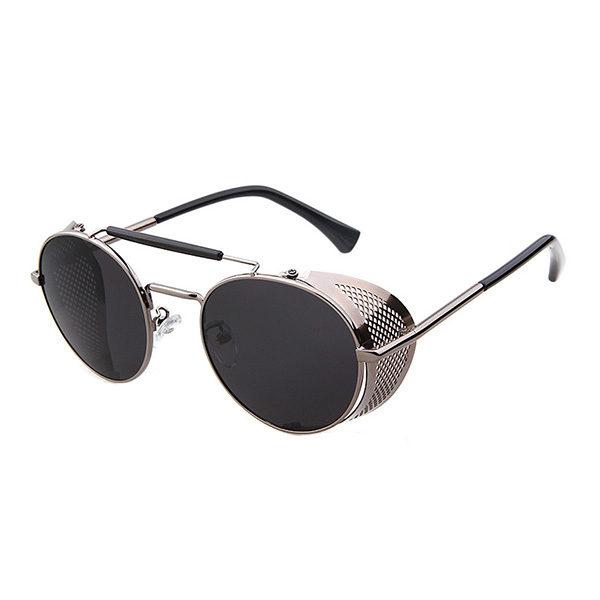 lunettes rider argentées
