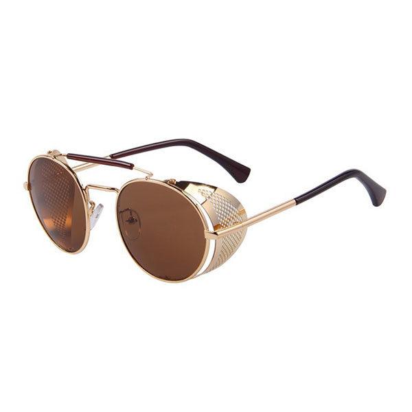 lunettes rider dorées