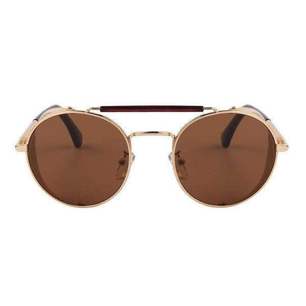 lunettes rider dorées vue de face