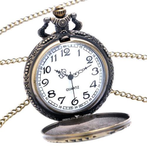 Cadran de la montre gousset locomotive outrance