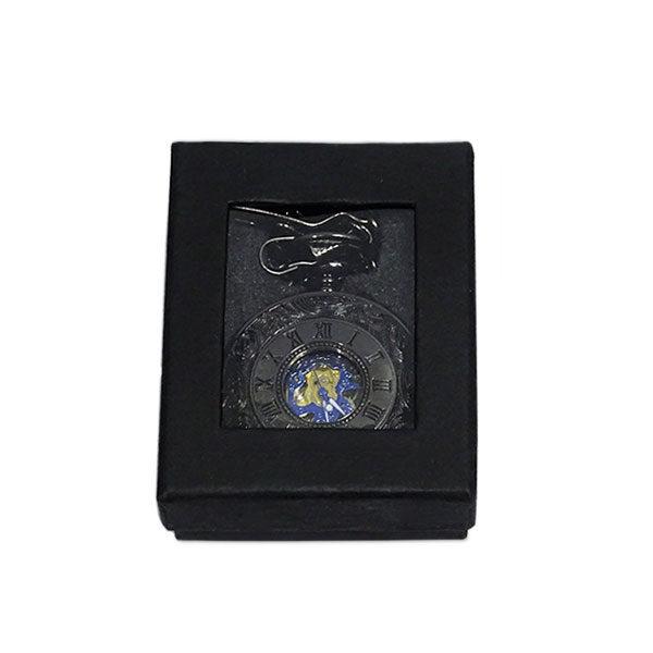 Boîte de la montre gousset midnight blue