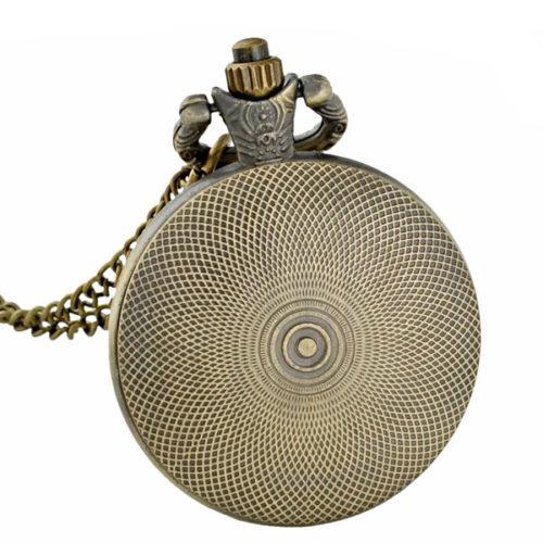 montre sautoir octopus - vue de dos