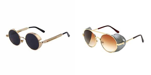 Exemples de lunettes steampunk