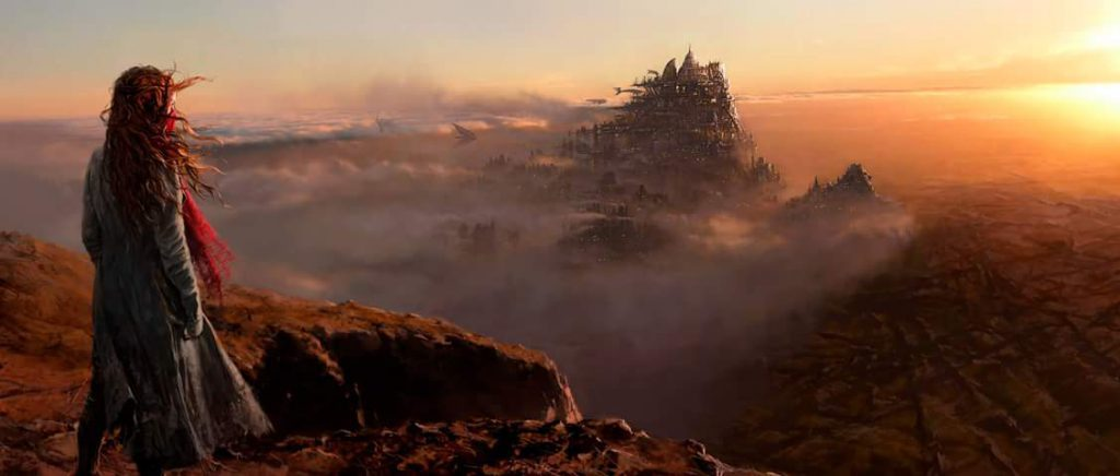 Concept art de Mortal Engines par Peter Jackson
