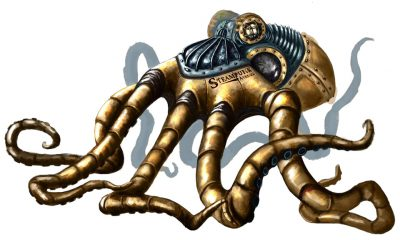 Octopus steampunk