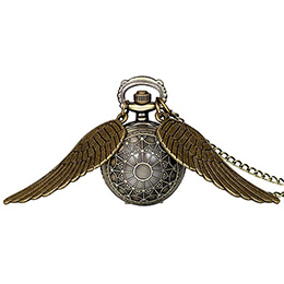 Angel Wing Necklace Vintage Watch