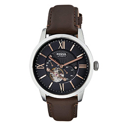 Luxury watches - Black steel case time piece