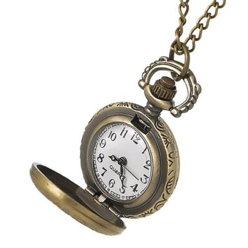 montre pendentif collier