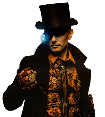 Futuristic Steampunk Fashion Men