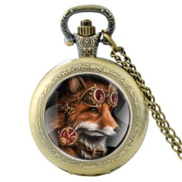 Montre sautoir Steam Fox