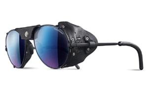 Non-polarized blue mirror glacier sunglasses