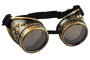 Welding goggles from the industrial revolution