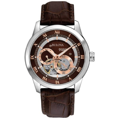Bulova rose gold watch