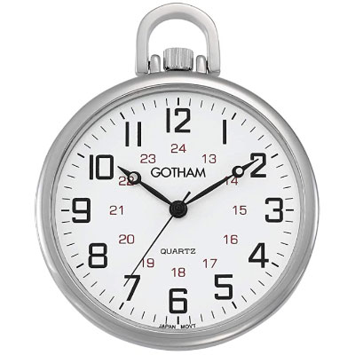 Gotham silvertone antique watch