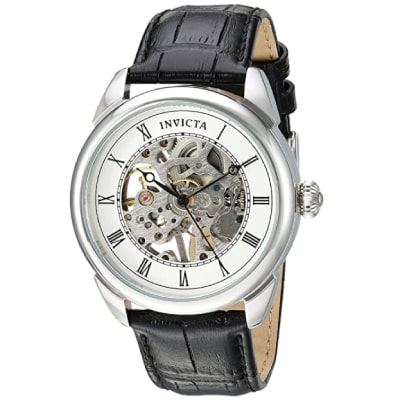 Invicta hand-wound wristwatch for men