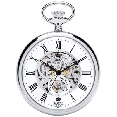 Montre Royal London couleur argent 17jewels