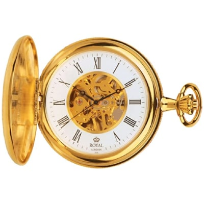Montre squelette Royal London Or jaune