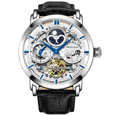 Stuhrling tourbillon automatic watch